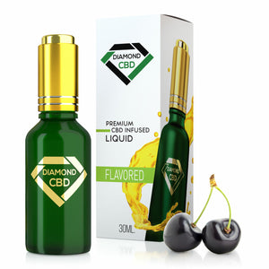 Diamond CBD - Oil Black Cherry Tincture 30ml.