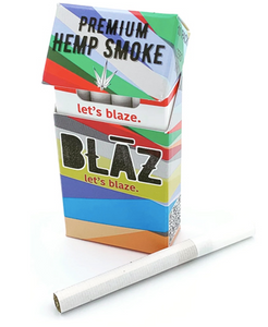 Blaz Hemp - CBD Cigarettes Premium Hemp Smokes Pack For Sale
