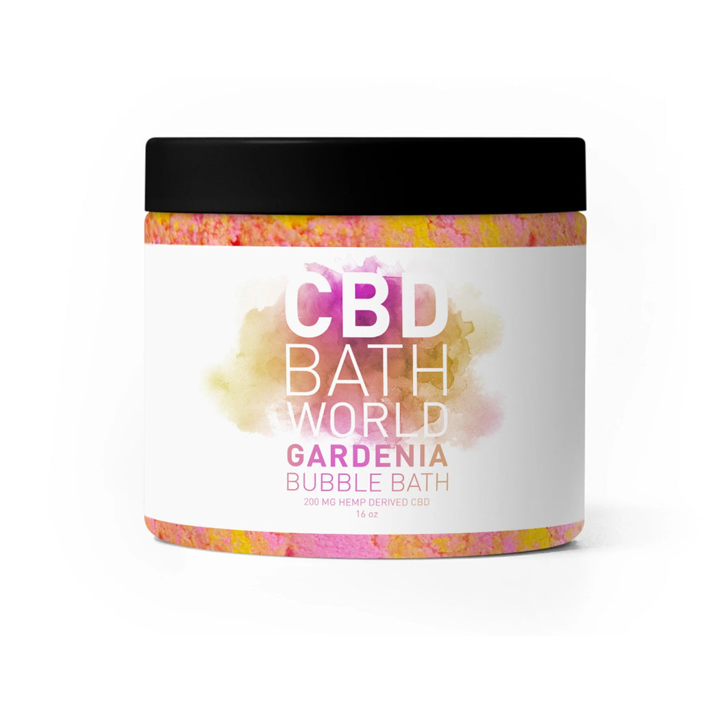 CBD Bath World - Bubble Bath Gardenia 200mg