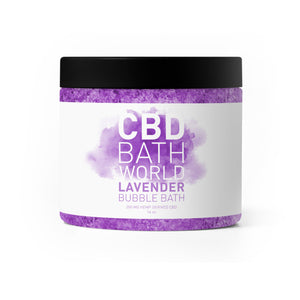 CBD Bath World - Bubble Bath Lavender 200mg