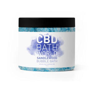CBD Bath World - Bubble Bath Sandalwood 200mg