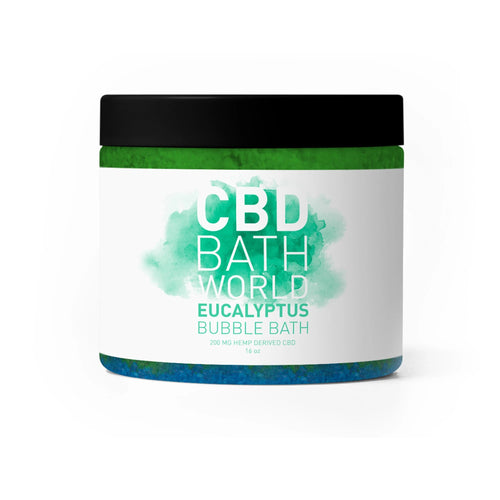 CBD Bath World - Bubble Bath Eucalyptus 200mg