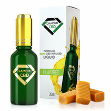 Load image into Gallery viewer, Diamond CBD - Oil Butterscotch Flavor 30ml.