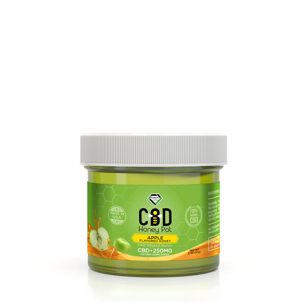 Diamond CBD - Honey Pot Apple Flavor 250mg