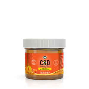Diamond CBD - Honey Pot Peach Flavor 250mg