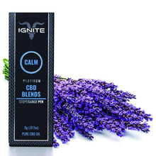Load image into Gallery viewer, Ignite CBD - Pen Calm Platinum Lavender 250mg