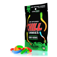 Load image into Gallery viewer, Chill Plus - CBD Gummies Edible Gummy Worms 150mg