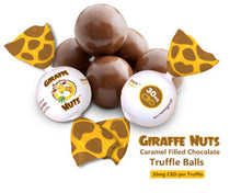 Load image into Gallery viewer, Giraffe Nuts - CBD Edible Chocolate Truffle Balls Choco Caramelo 100 Count