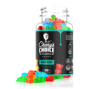 Chong's Choice - CBD Infused Gummy Bears 500mg