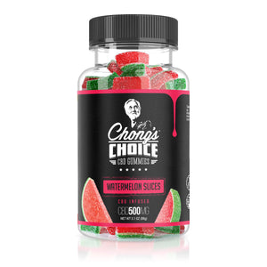 Chong's Choice - CBD Infused Gummies Watermelons 500mg