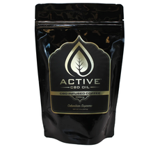 Load image into Gallery viewer, Active CBD Oil - Edible Infused Coffee 8oz.