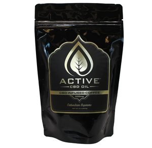 Active CBD Oil - Edible Infused Coffee 8oz.