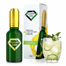 Load image into Gallery viewer, Diamond CBD - Oil Cucumber Mint Tincture 30ml.