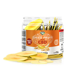 Load image into Gallery viewer, Diamond CBD - Edible Dried Fruit Banana Chips 250mg