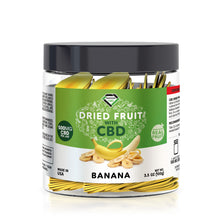 Load image into Gallery viewer, Diamond CBD - Edible Dried Fruit Banana Chips 500mg