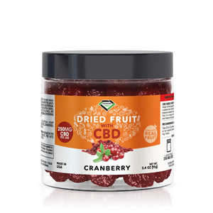 Diamond CBD - Edible Dried Fruit Cranberries 250mg