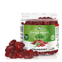 Load image into Gallery viewer, Diamond CBD - Edible Dried Fruit Cranberries 500mg