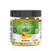 Load image into Gallery viewer, Diamond CBD - Edible Dried Fruit Mango Sliced 500mg