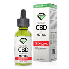 Load image into Gallery viewer, Diamond CBD - Oil Full Spectrum MCT Tincture 1500mg (30ml)