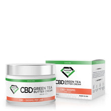 Load image into Gallery viewer, Diamond CBD - Cream Green Tea Butter 1000mg