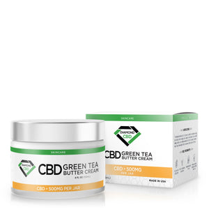 Diamond CBD - Cream Green Tea Butter 500mg