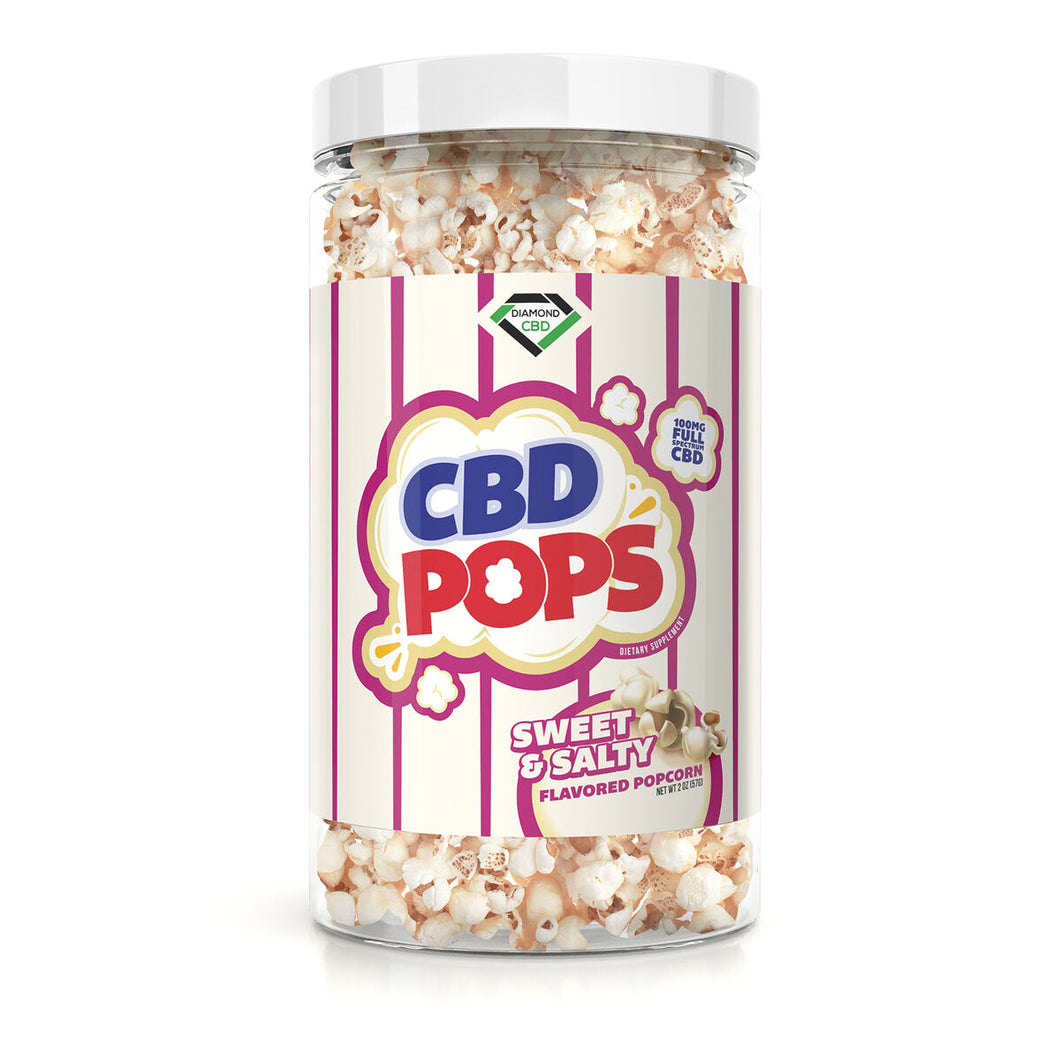 Diamond CBD - Popcorn Sweet & Salty 100mg