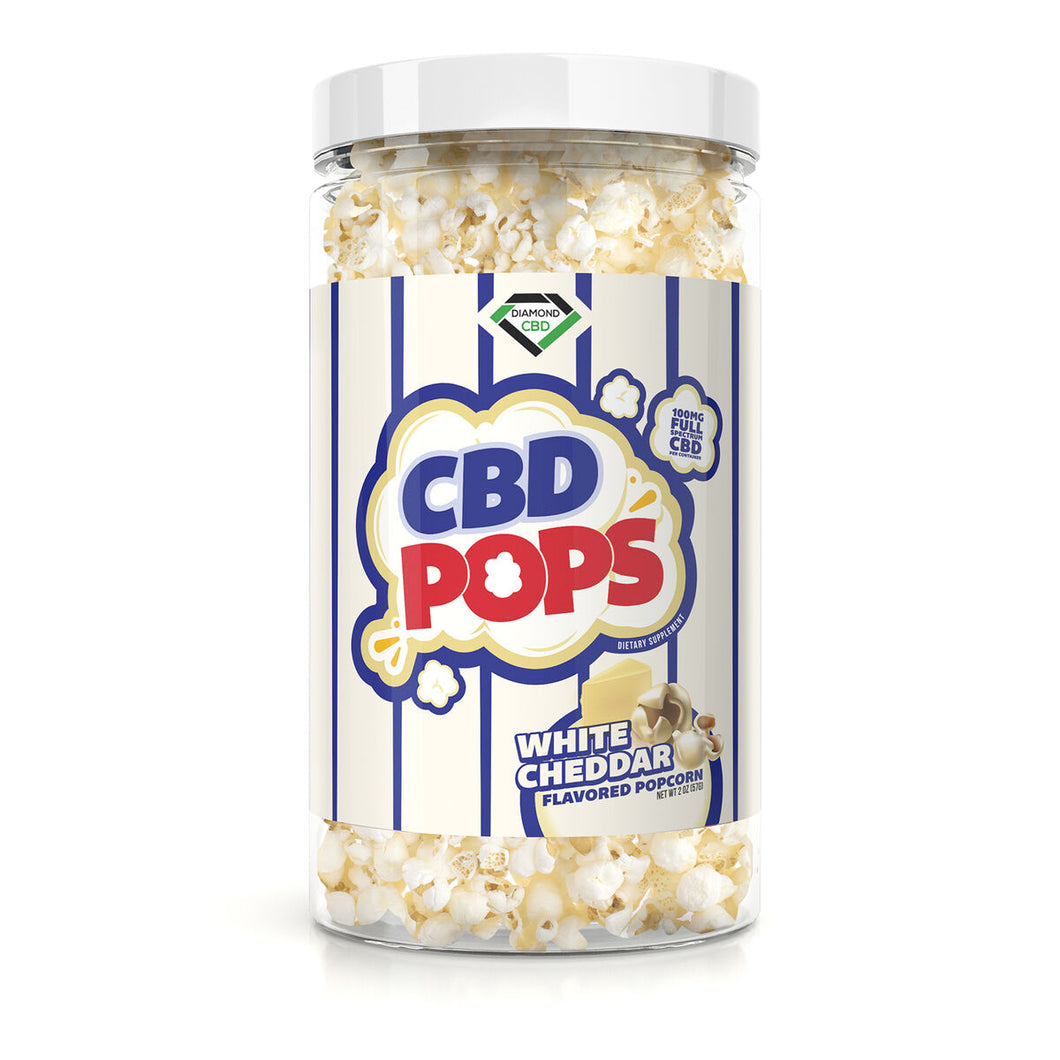 Diamond CBD - Popcorn White Cheddar 100mg
