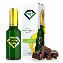 Load image into Gallery viewer, Diamond CBD - Oil Double Dark Chocolate Flavor 30ml