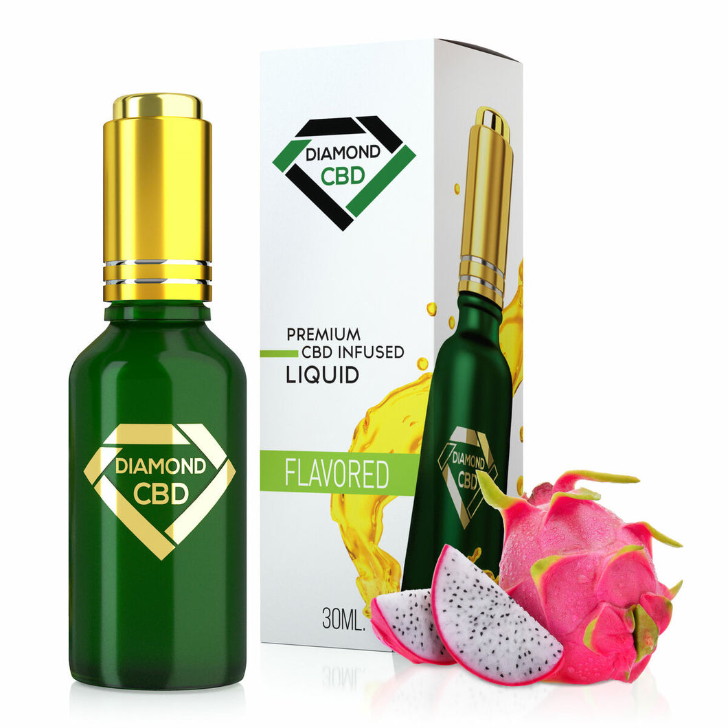 Diamond CBD - Oil Dragon Fruit Tincture 30ml.