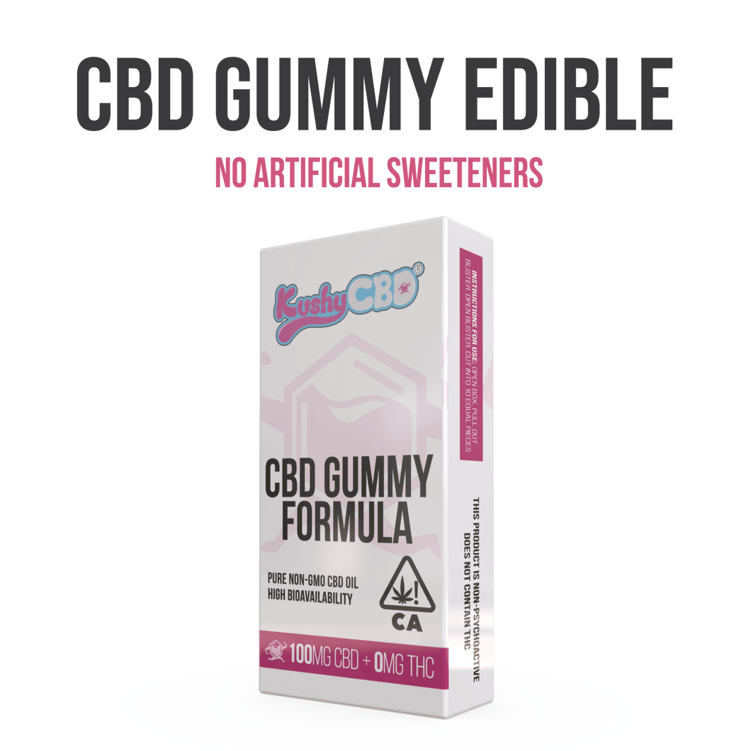 Kushy CBD - Gummy Peach 100mg
