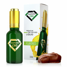 Load image into Gallery viewer, Diamond CBD - Oil English Toffee Tincture 30ml.