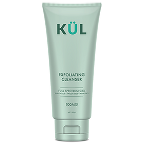 Kul CBD - Skin Care Exfoliating Cleanser 4 fl oz.