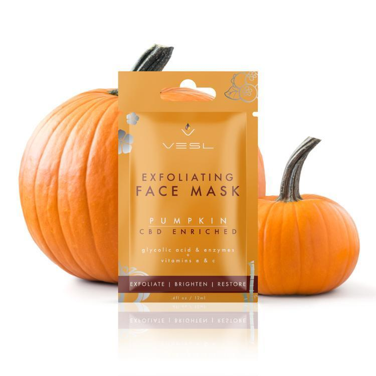 Vesl CBD - Skin Care Face Mask Exfoliating Pumpkin