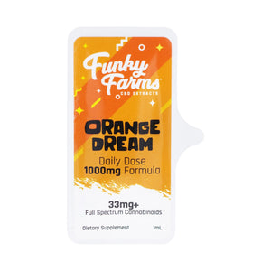 Funky Farms - Daily Dose CBD Orange Dream 33mg
