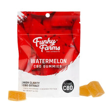 Load image into Gallery viewer, Funky Farms - CBD Gummy Watermelon 50mg