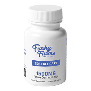 Funky Farms - CBD Capsules Soft Gel 30 count