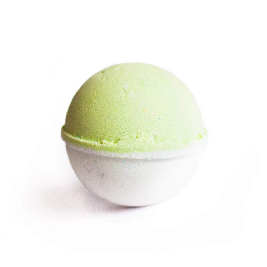 CBD Bath World - Bath Bomb Coconut Lime 50mg