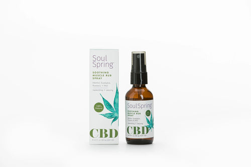 Soul Spring - CBD Spray Muscle Rub Soothing 60ml