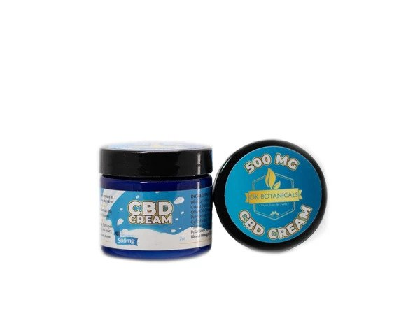 OK Botanicals - CBD Cream 500mg