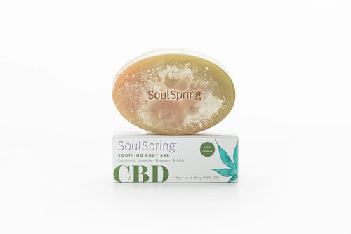 Soul Spring - Hemp Soap Soothing CBD Body Bar