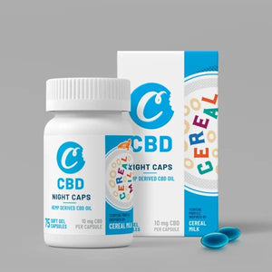 Cookies CBD - Capsules Soft Gel Full Spectrum Cereal Milk 75ct
