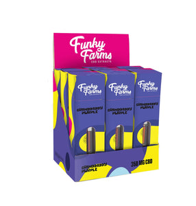 Funky Farms - CBD Cartridge Granddaddy Purple 350mg
