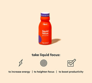 More Labs - Drink Liquid Focus Berry 100ml
