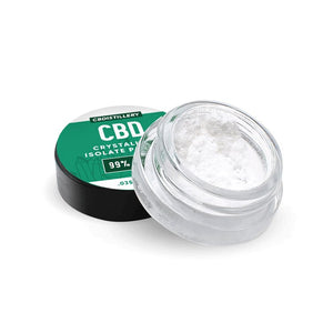 CBDistillery - CBD Isolate Powder Crystalline