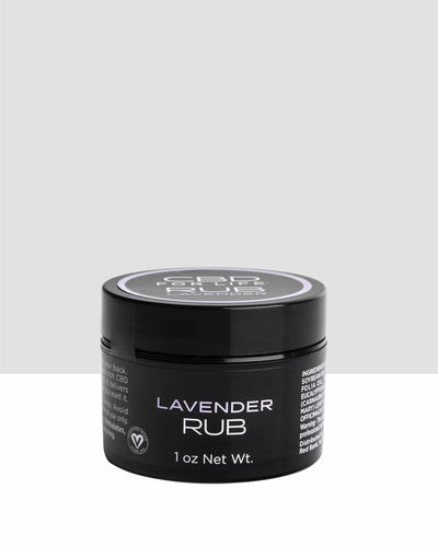 CBD For Life - Muscle Rub Lavender