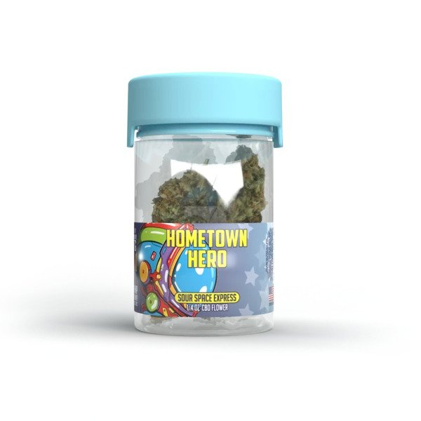 Hometown Hero - CBD Flower Sour Space Express 7gms
