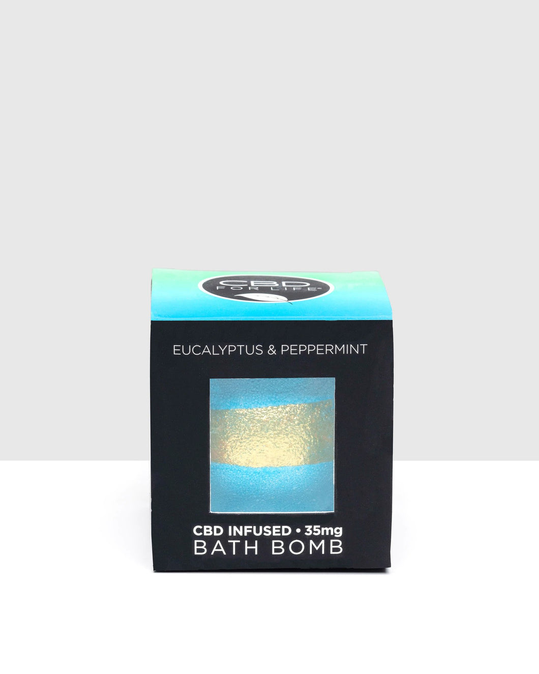 CBD For Life - Bath Bomb Eucalyptus & Peppermint