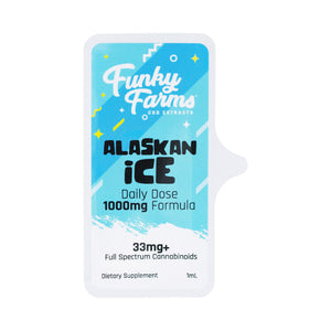 Funky Farms - Daily Dose CBD Alaskan Ice 33mg