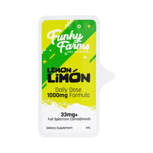 Funky Farms - Daily Dose CBD Lemon Limon 33mg