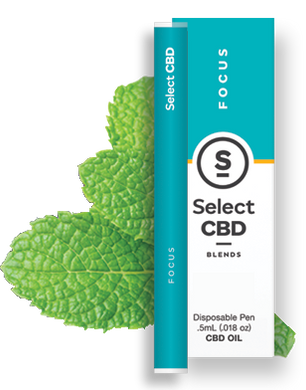 Select CBD - Pen Focus Peppermint 250mg